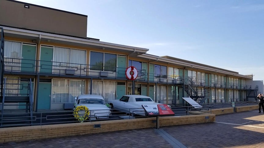 Lorraine Motel at the National Civil Rights Museum in Memphis