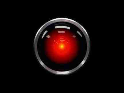 The Hal 9000 computer from 2001: A Space Odyssey