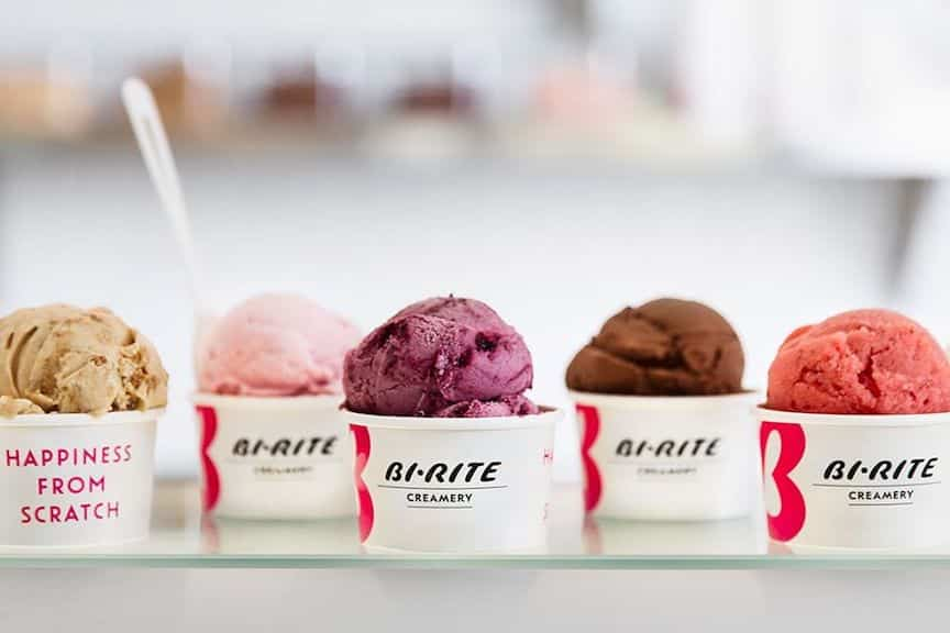 Assorted flavors from Bit-Rite Creamery