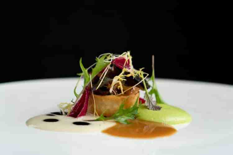 Another beautiful dish created by chef Troy Jorge of Temporis