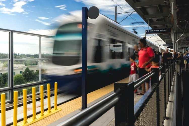 Seattle's Link Light Rail public transportation system