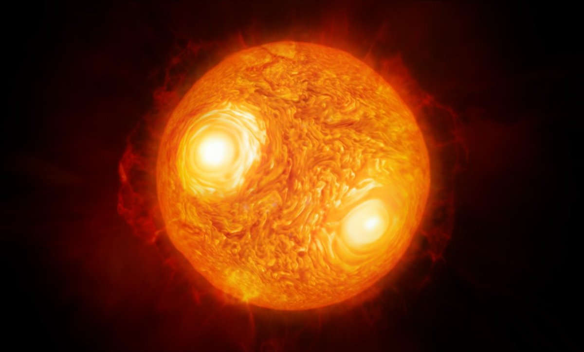 Chile's Very Large Telescope Interferometer Captures Best Image Ever of a Star's Surface
