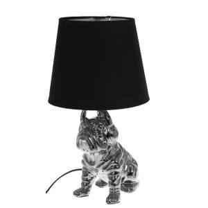 Bordslampa Bulldog Silver