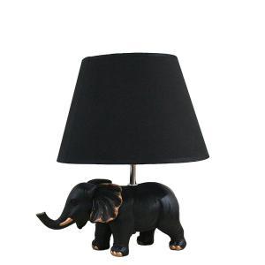 Bordslampa Elefant Antiksvart/Mässing
