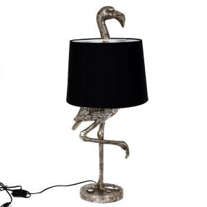 Bordslampa Flamingo Silver/Svart