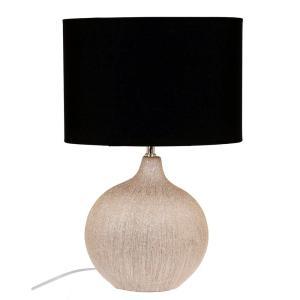 Bordslampa Iris Mässing/Svart