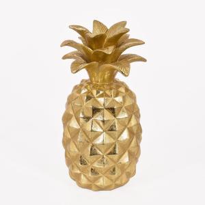 Dekoration Ananas Mässing