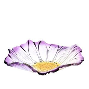 Skål Blomma Lila