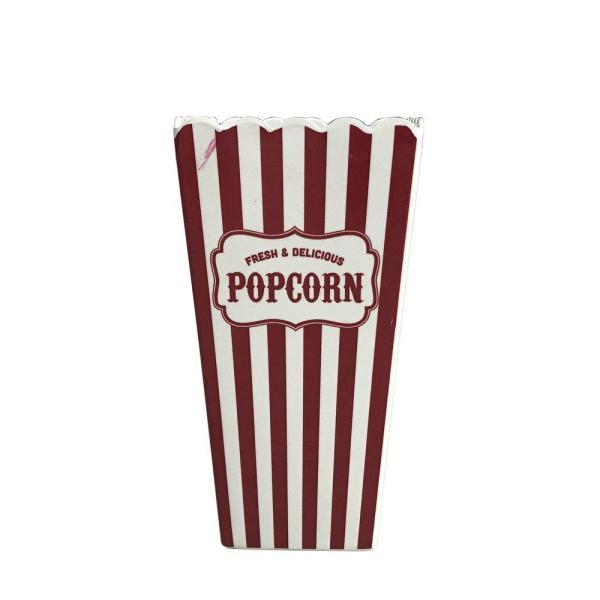 Skål Popcorn Röd/Vit
