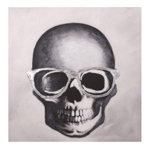 Tavla Skeleton Vit