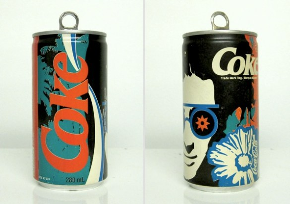 vintage coke can design 6
