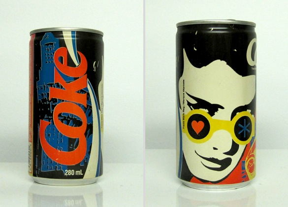 vintage coke can design