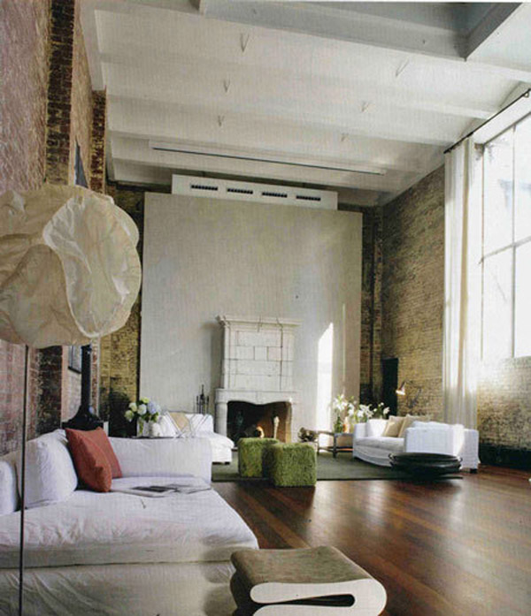 Loft interior design inspiration for Interior design inspiration new york