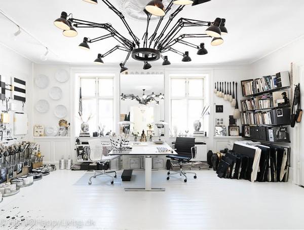 Tenka gammelgaard studio in elle deco uk