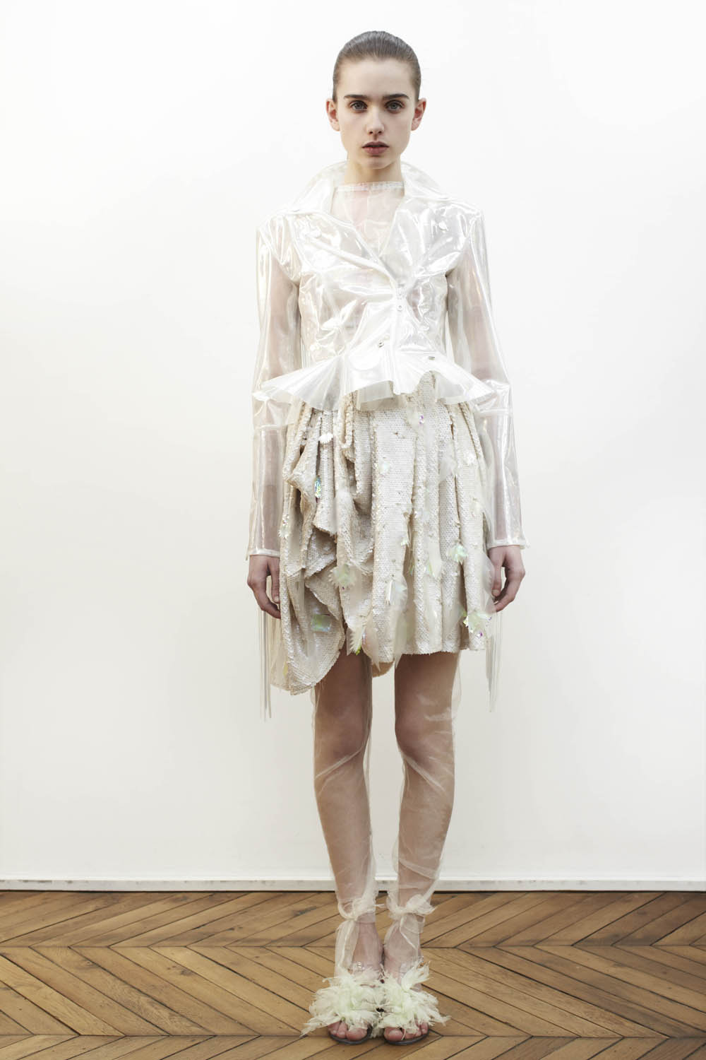 Hyeres fashion contest dress