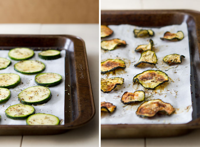 Baked Rosemary and Basil Zucchini Chips3
