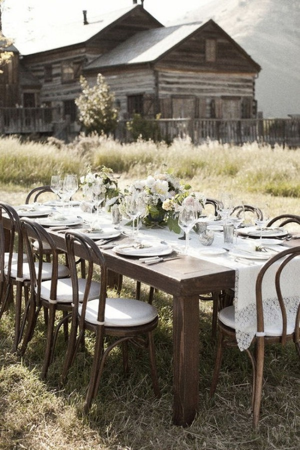 table setting design. A story about & 8 Best Rustic Table Settings