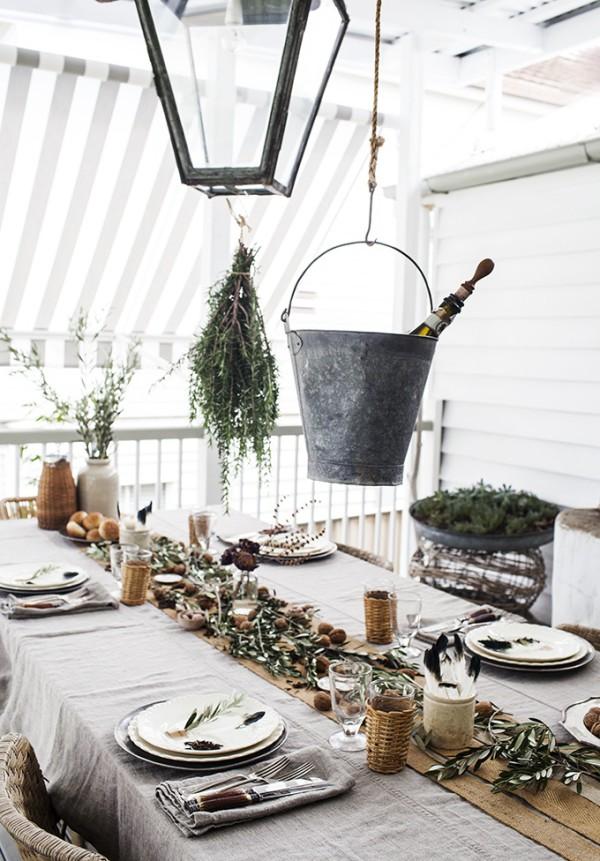 rustic-table setting-2