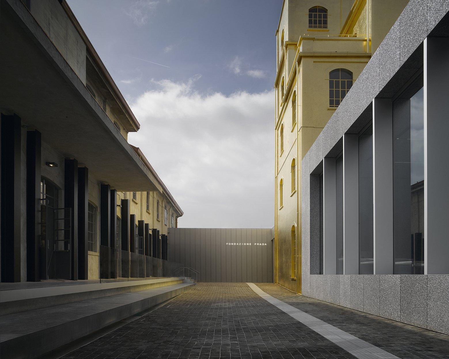 The New Fondazione Prada in Milan