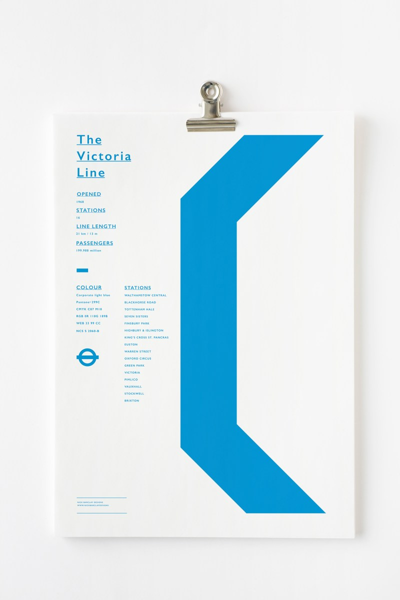 london underground graphics