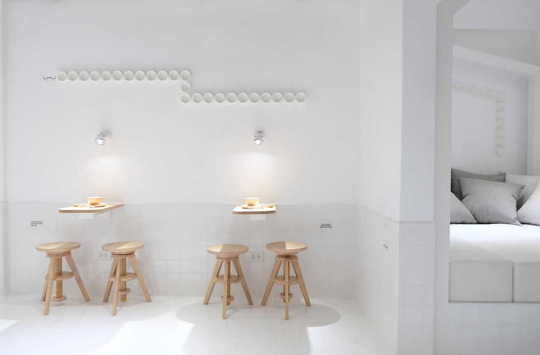 Thaipan Studio Designed the Simplistic Milk Bar in Bangkok