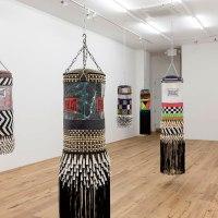 Jeffrey Gibson's Punching Bags