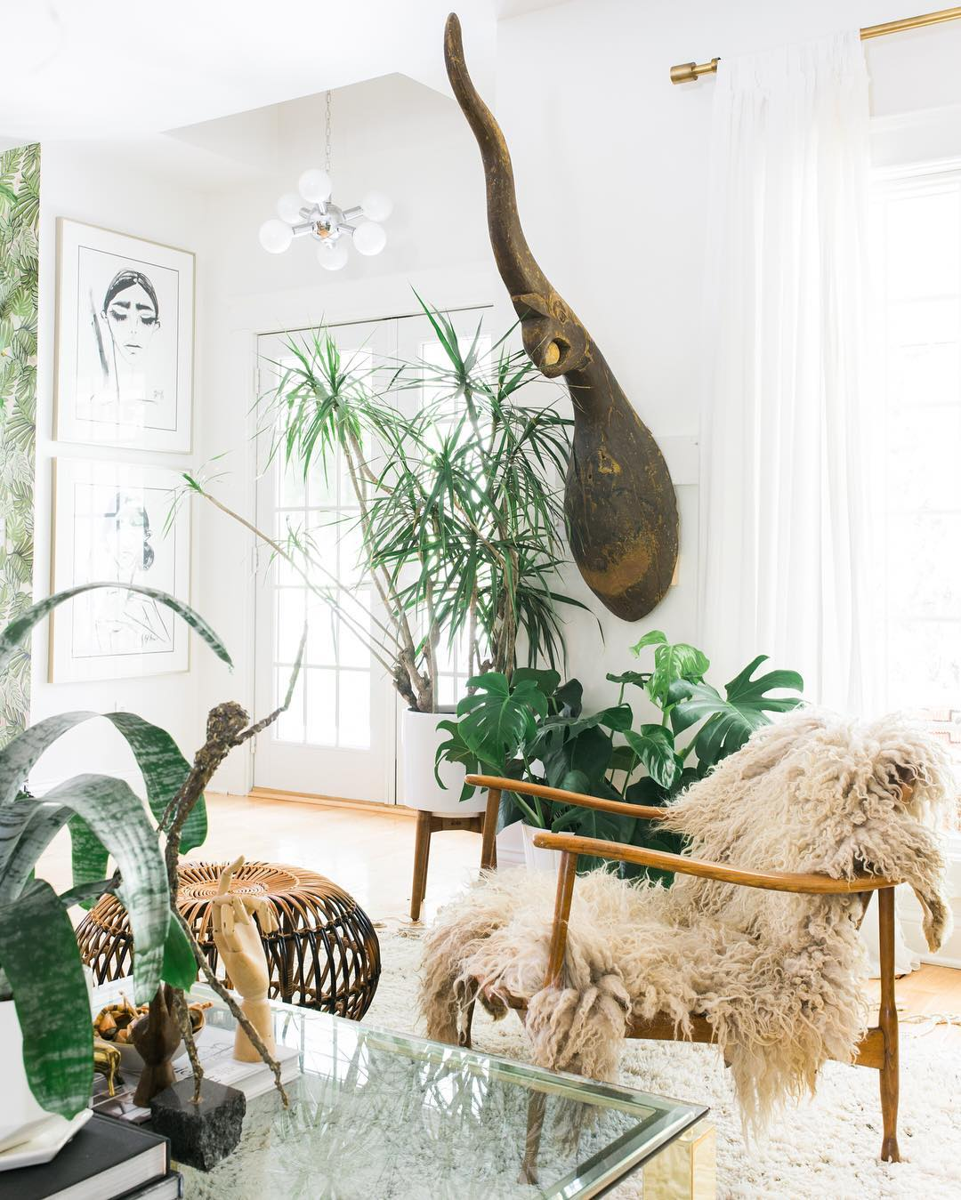 Bohemian Desert Vibe For Interior Stylist Carley Summers
