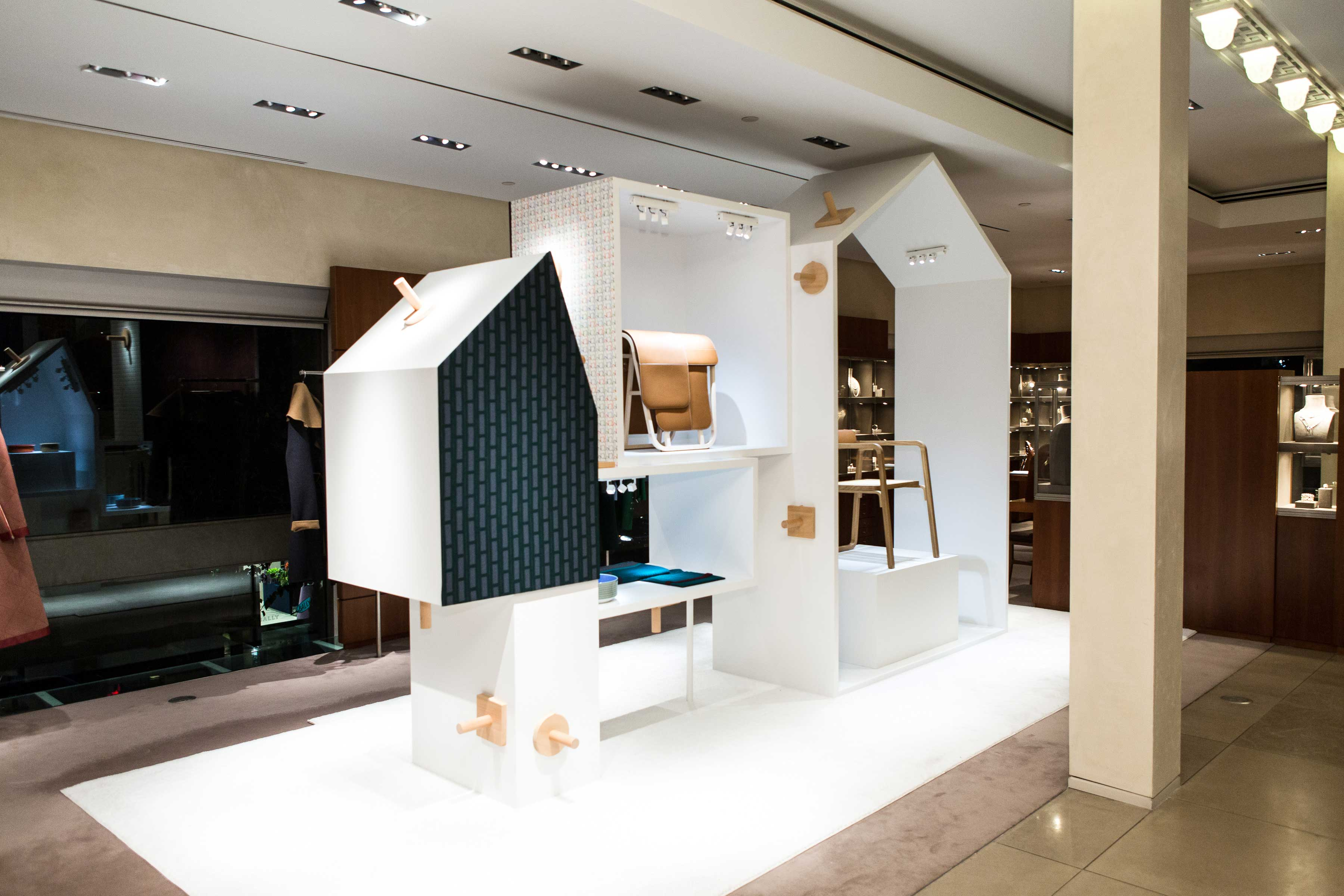 Hermes Maison New Furnishing Fabrics And Wallpapers Collection  # Idee Meuble Tv Fait Maison