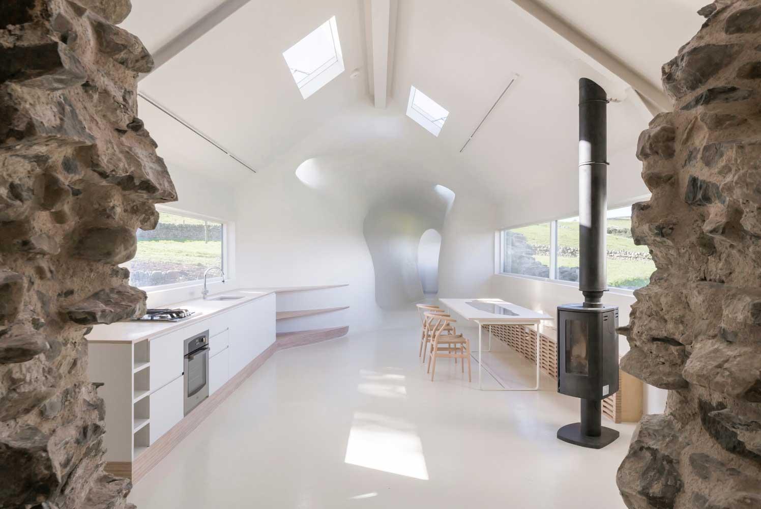 18th Century Ruins Transform into a Futuristic Home | Trendland