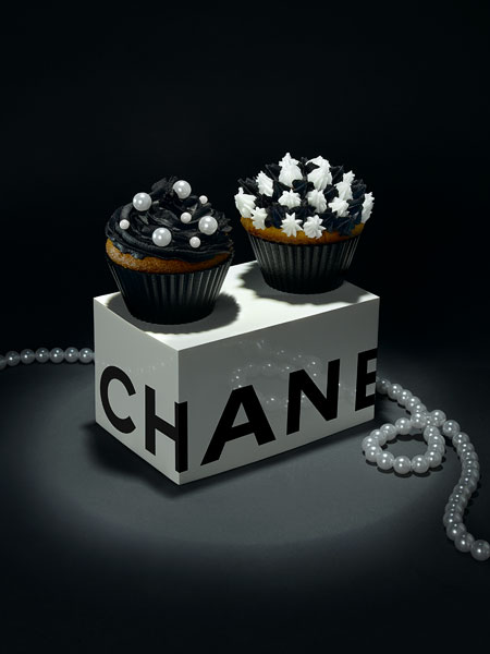 chanel cupcakes Fashion Cupcakes