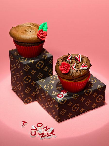 louisvuitton cupcakes Fashion Cupcakes
