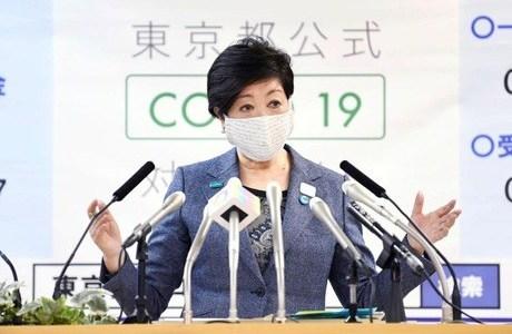 【動画】小池百合子都知事が会見中に息切れや咳をしていた!!