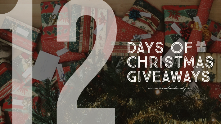 Trendmebeauty's 12 Days of Christmas Giveaways
