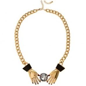 Necklace: James Hannah,