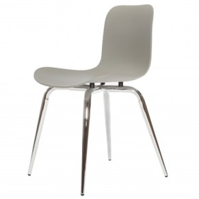 norr11_langue_avantgarde_dining_chair_chrome_flint_grey