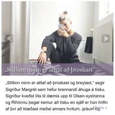 Viðtal við mig inn á Mbl.is