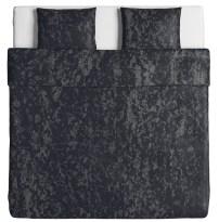 MAT000651V1-SVÄRTAN qc pwc TW black Grey cotton Satin 4-1 weave 118 gsm Q2