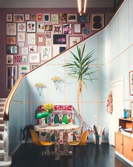 Barbara+Werner+Gallery+wall+on+The+Pink+Room+Nz