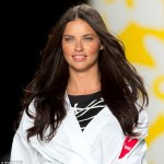 super model adriana lima frisuren 2016