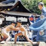 上賀茂神社 重陽神事と烏相撲