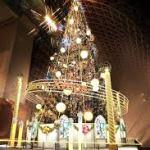 京都駅ビルの クリスマス イルミネーション がきれい過ぎる☆