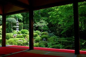 京都 冬の大原三千院 拝観コース