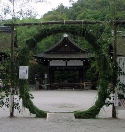 京都 下鴨神社の伝統行事 夏越大祓