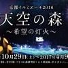京都イルミエール2016天空の森~希望の灯火