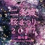 二条城桜まつり2017 京の城に桜舞う