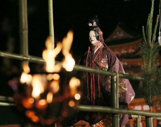 幽玄の舞   京都薪能