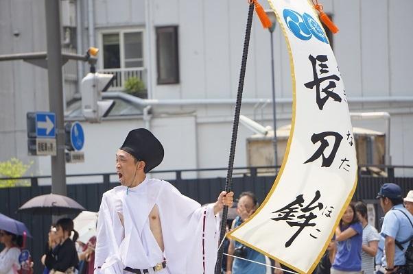 祇園祭2018・山鉾巡行(前祭)長刀鉾