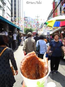 【ソウル】3日目 ソウル最後の晩餐は、明洞でチーズタッカルビ