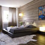 20 Inspirierende Schlafzimmer Mit Wandpaneelen Aus Holz Trendomat Com