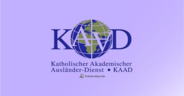 KAAD Scholarship Programme 2021-2022 Germany for developing countries students